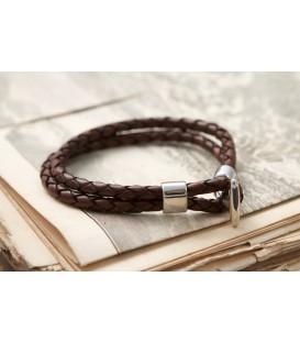 Кожаный браслет Кусто Товтры