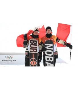 Burton Process сноуборд с бронзой на Олимпиаде