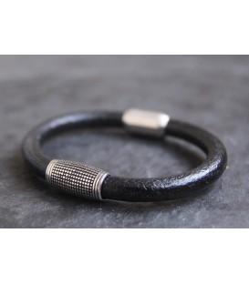 Кожаный браслет Кусто Таормина