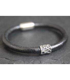 Кожаный браслет Кусто Байа