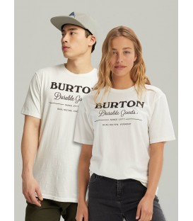 Burton Durable Goods футболка белая