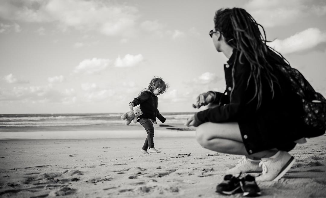 Серфинг с ребенком
