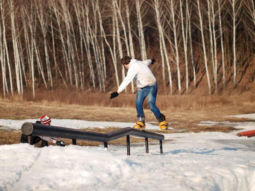 Сноуборд парк в Харькове