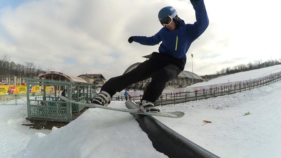 Сноуборд парк в Днепре
