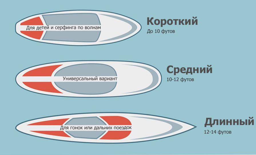Длина сапа